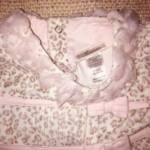 Other - Pink Leopard Print Baby Dress